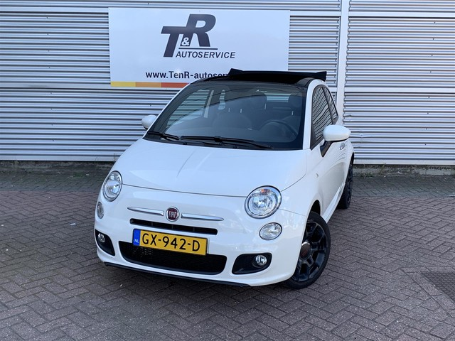 Fiat 500 0.9 TwinAir 500S (Cabrio, Airco, Lage kmstand)